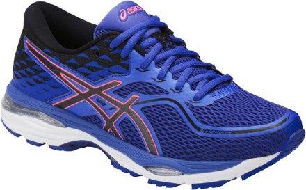 ASICS Women's Gel-Cumulus 19 Road-Running Shoes Blue Purple/Black 10.5 Wide