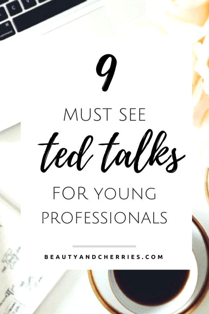 """Ted Talks For Young Professionals who struggle living the """"standards and pressures of daily life."""" Young Entrepreneurs who are pressured to keep with business needs - seriously, you have to WATCH THIS."""