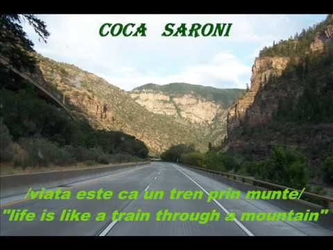 COCA   SARONI.........(  viata ca un tren prin munte )