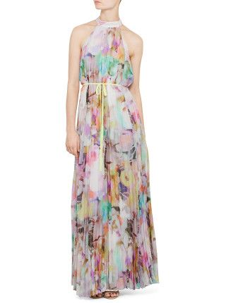 Electric Daydream Print Maxi - Ted Baker