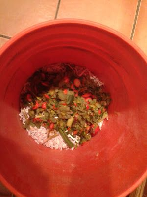 building a 5gallon bucket composter they might be