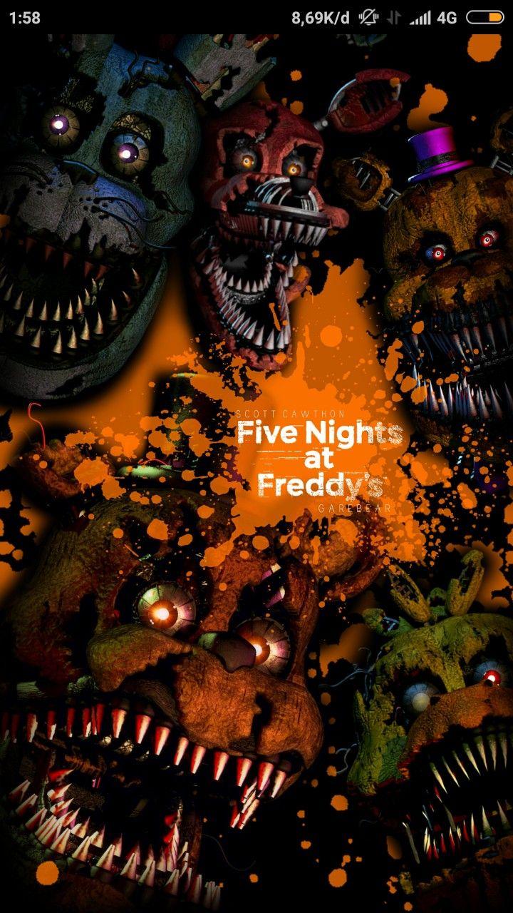 Fnaf 4 Poster Fnaf Wallpapers Fnaf Five Nights At Freddy S