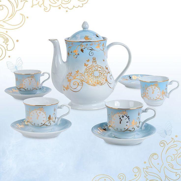 Cinderella Limited Edition Fine China Tea Set - Live Action Film
