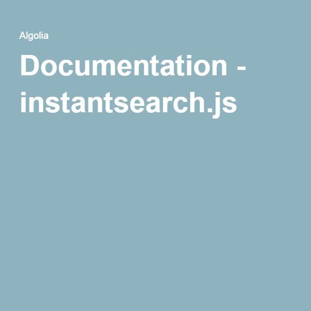 instantsearch.js