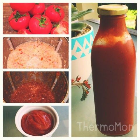 My homemade ketchup, made in the Thermomix #ketchup #thermomix #homemade #glutenfree