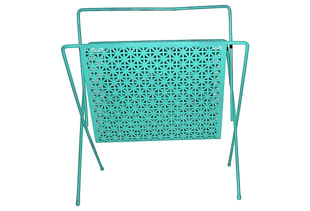 Midcentury Magazine Rack on OneKingsLane.com