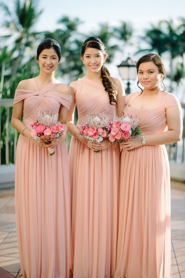 wedding entourage gowns   deweddingjpg.com