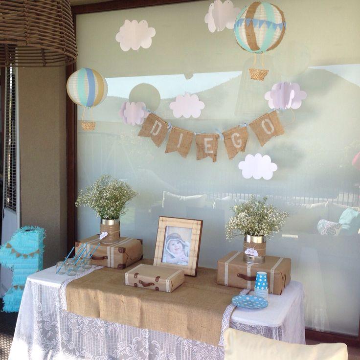 Mesa decoración bautizo