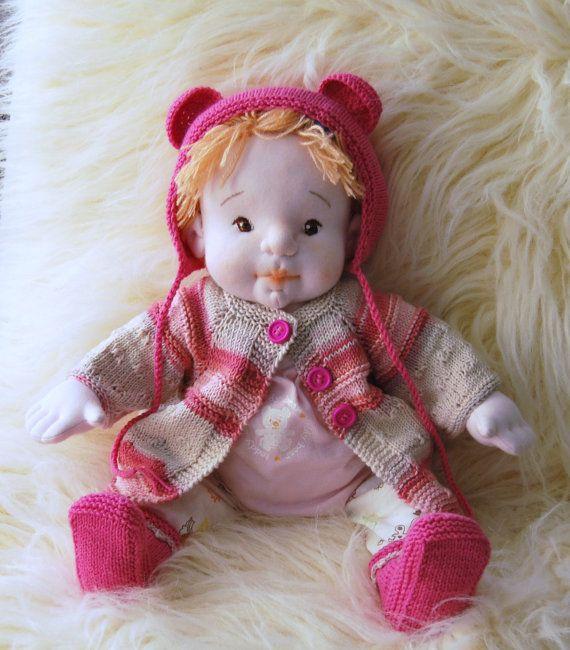JESSICA 17 Waldorf Doll Cloth Doll Soft Doll by MaryUniqueDoll