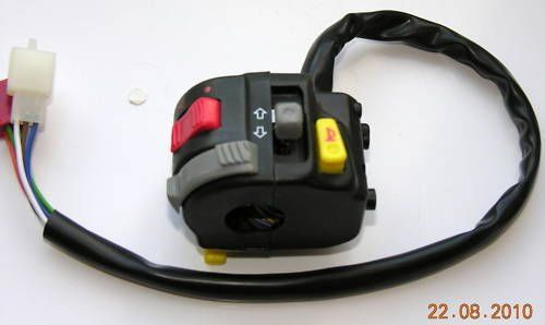 Qtech Atv Kill Switch Motorcycle Cluster Light Horn General Motocross Indicator: Amazon.co.uk: Car & Motorbike