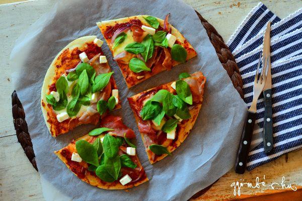 Having a pizza night? Try our Greek pizza! | Görög(ös) pizza recept a Gyömbéren!