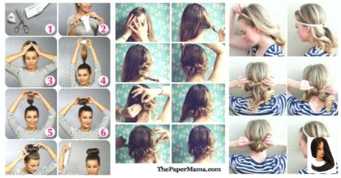 Hairstyles Quick Quick Hairstyle 10 Quick Hairstyles Anyone Can Do Even You 10 Quick Hairs Hair Styles Quick Hairstyles Quick Hairstyles For School