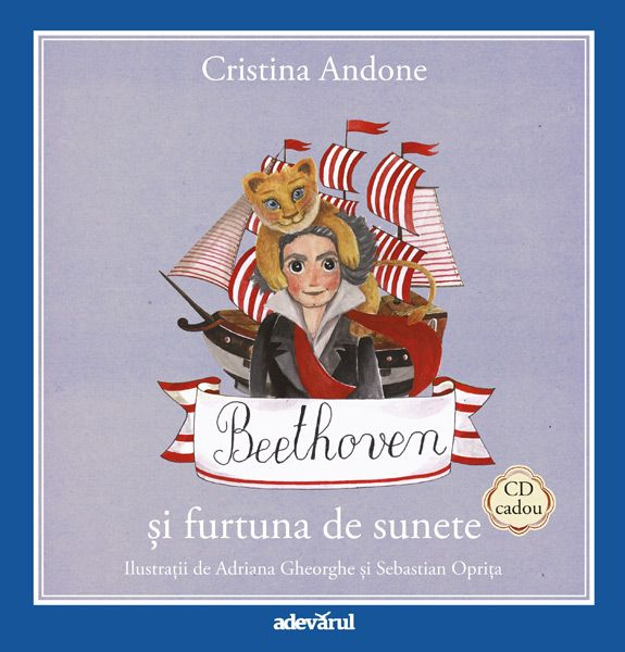 (Nr. 5) Beethoven si furtuna de sunete - Carte + CD