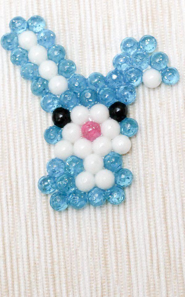 Beados bunny rabbit water bead picture