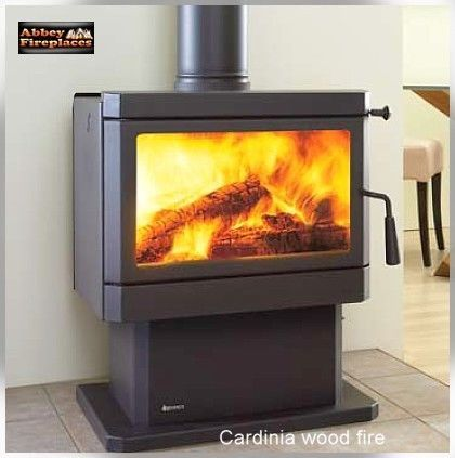 Cardinia Freestanding Wood Heater, Solid Fuel Fireplaces