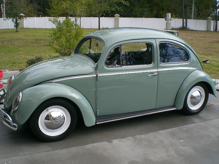 1956 vw beetle with oval window autos antiguos pinterest