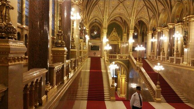 Parlament - Díszlépcső