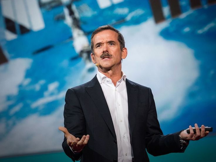 Chris Hadfield: What I learned from going blind in space | TED Talk | TED.com