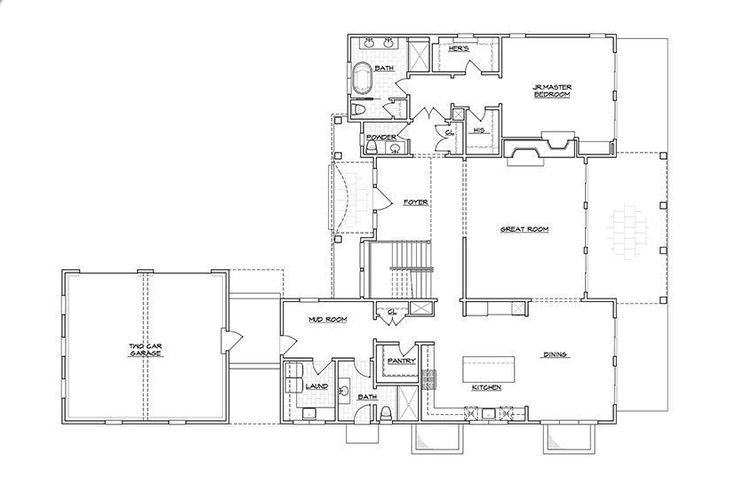 54 best floor plans images on pinterest architecture for Best floor plan ever