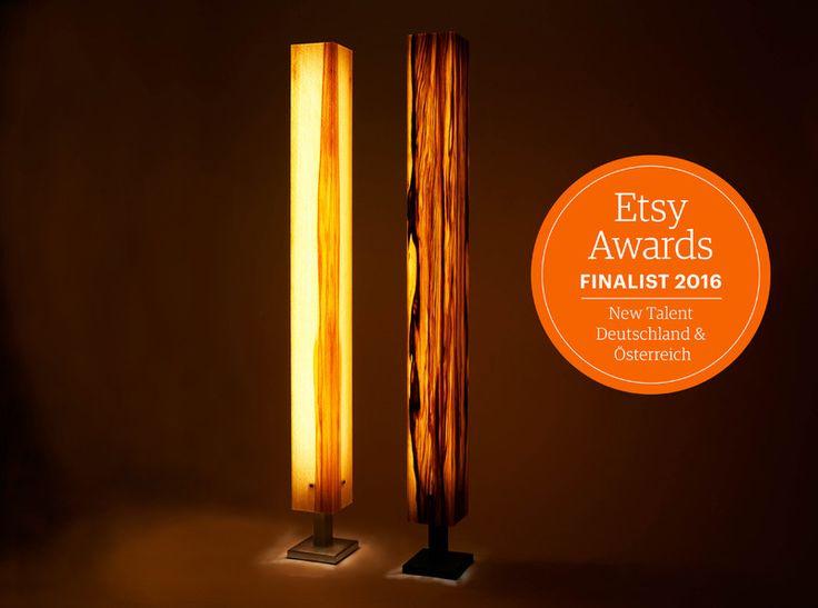 25 parasta ideaa pinterestiss stehlampe holz buche. Black Bedroom Furniture Sets. Home Design Ideas