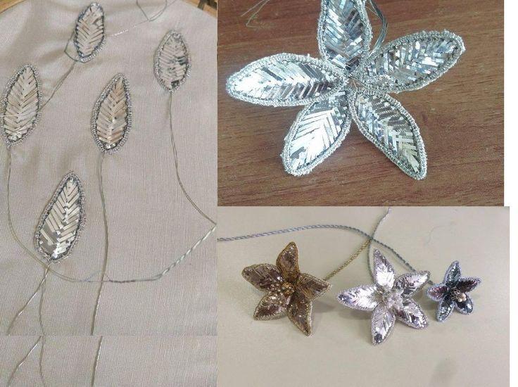 tel kırma balık sırtı çiçek yeni çalışmam
