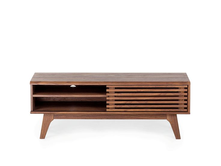 TV Stand - TV Cabinet - Media Storage - Brown - TOLEDO ✓ Free Shipping and free Returns - Beliani.ch