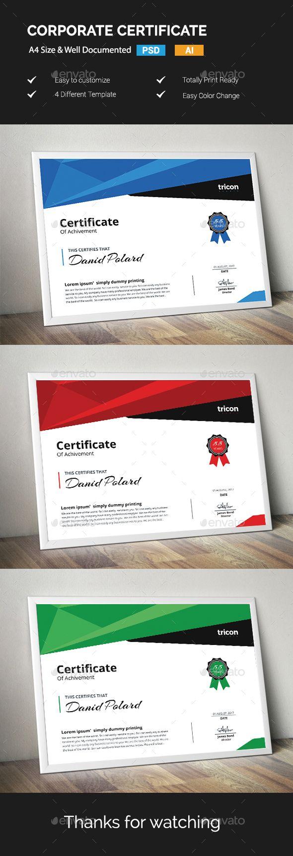8 besten certificate designs Bilder auf Pinterest ...