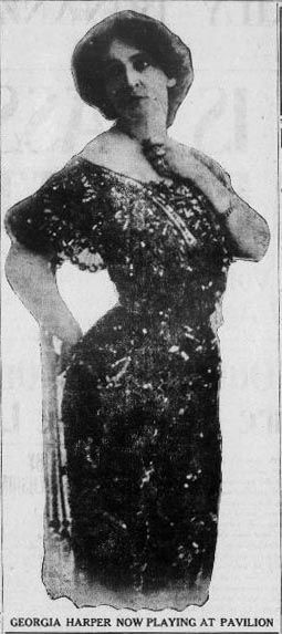 "Georgia Harper appears in two plays at the Pavilion Theatre; ""Niobe"" and ""Zira"" - Tonopah Daily Bonanza, January 28, 1908"