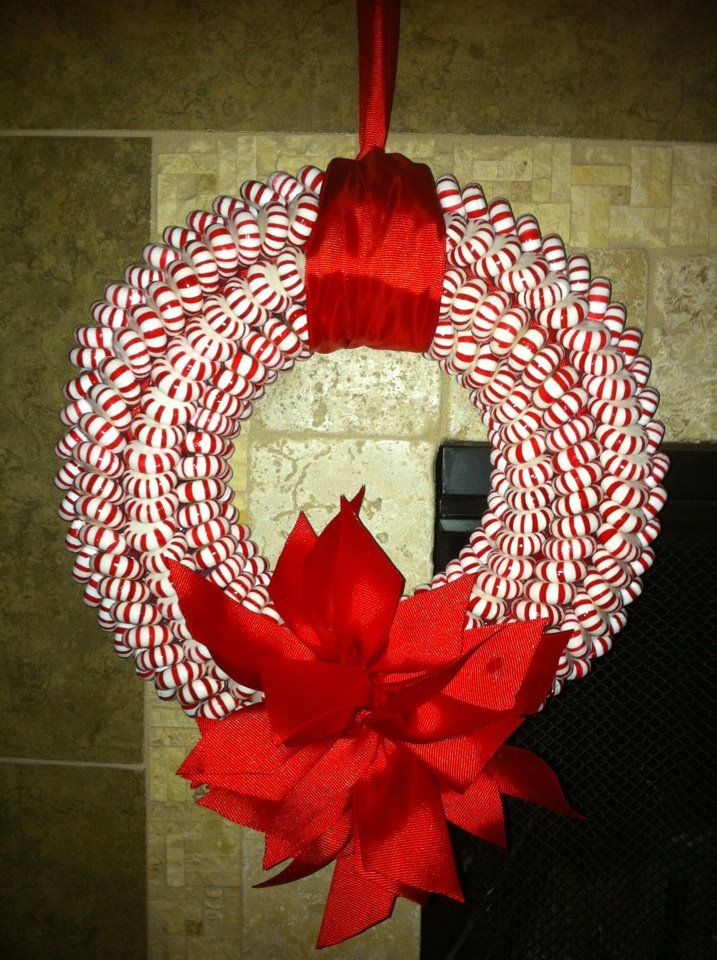Mint Wreath for the Holidayu0027s I couldnu0027t