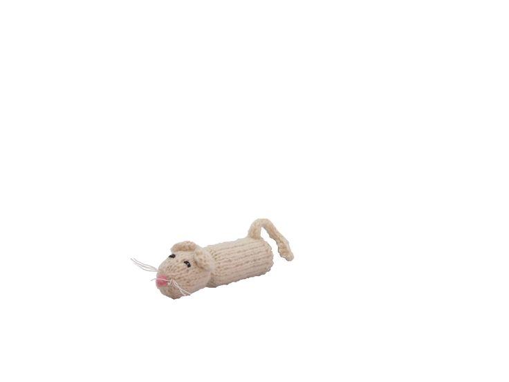 白いねずみの指人形 | ihanaa−北欧とバルト三国の毛糸と 雑貨のセレクトショップ
