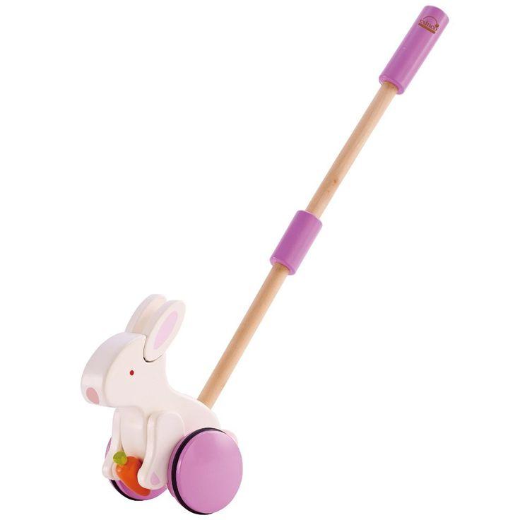 Push & Pull Bunny - Hape E0342 - lalberoazzurro.net