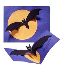 Bat Cards for Halloween!