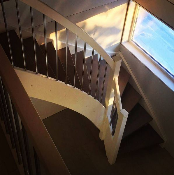 snekkeriet#passionforwood #custommade #stairs #gåttåvåttå