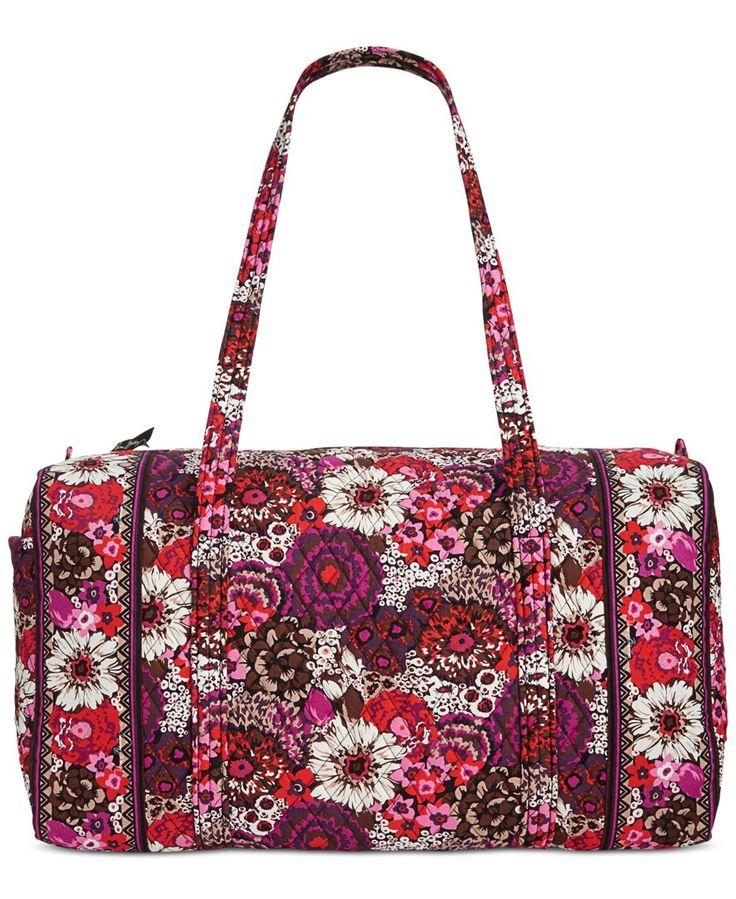 Vera Bradley Large Duffel Bag | macys.com