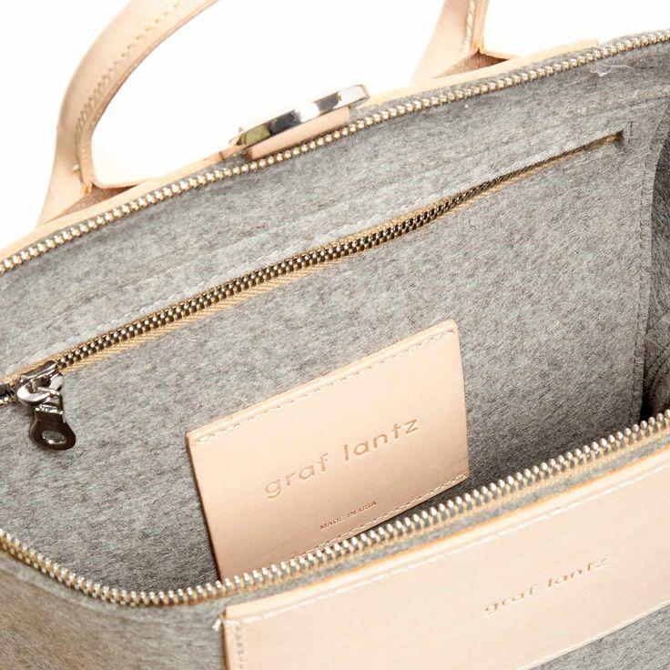 Bedford Backpack Felt / Leather
