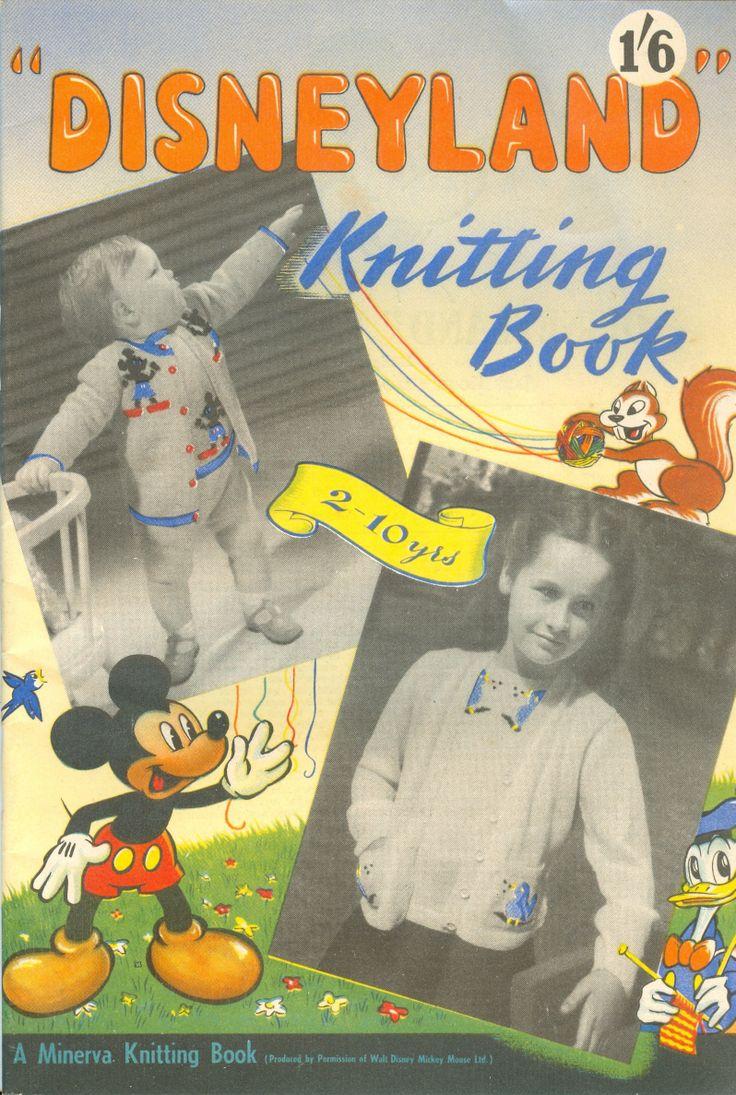 Minerva Knitting Book - Disneyland Knitting Book, 1949
