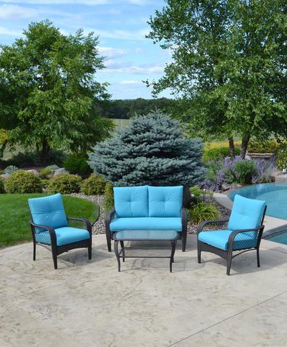 Backyard Creations® 4-Piece Marina Bay Deep Seating