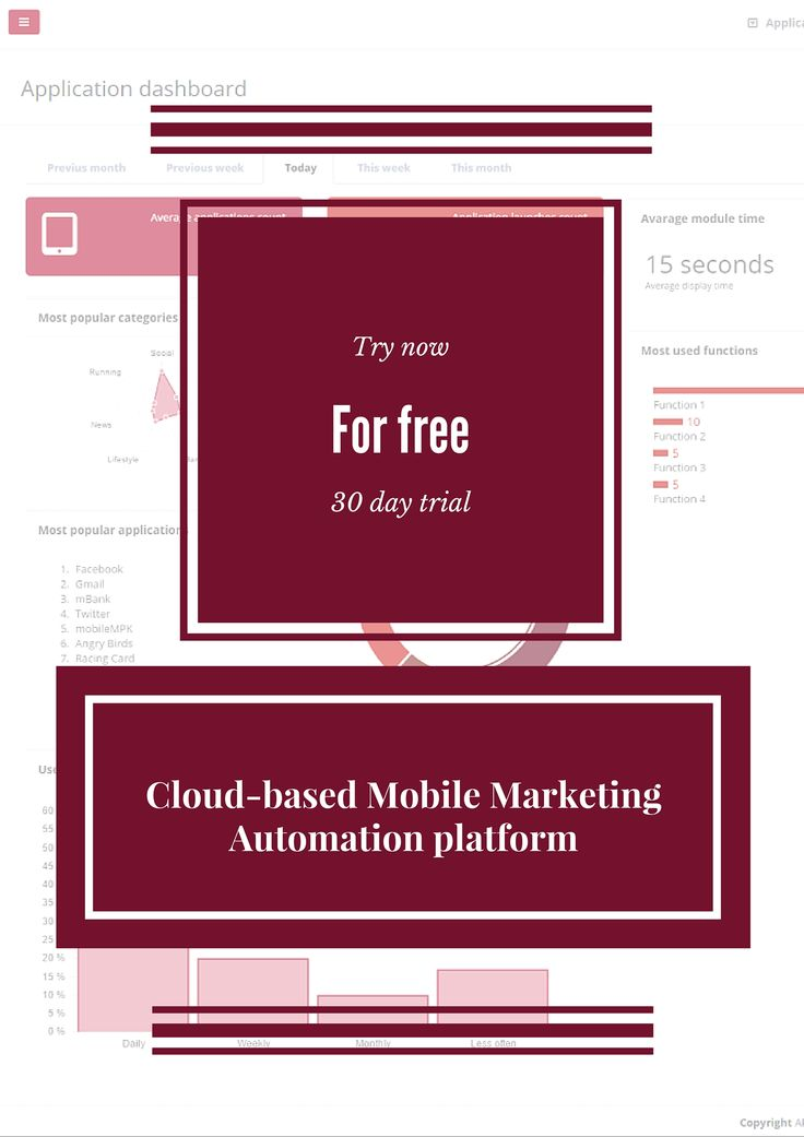 Cool Mobile Marketing Automation tool for free (30 day trial) #CRMforMobile #Free_trial #MobileMarketingAutomation