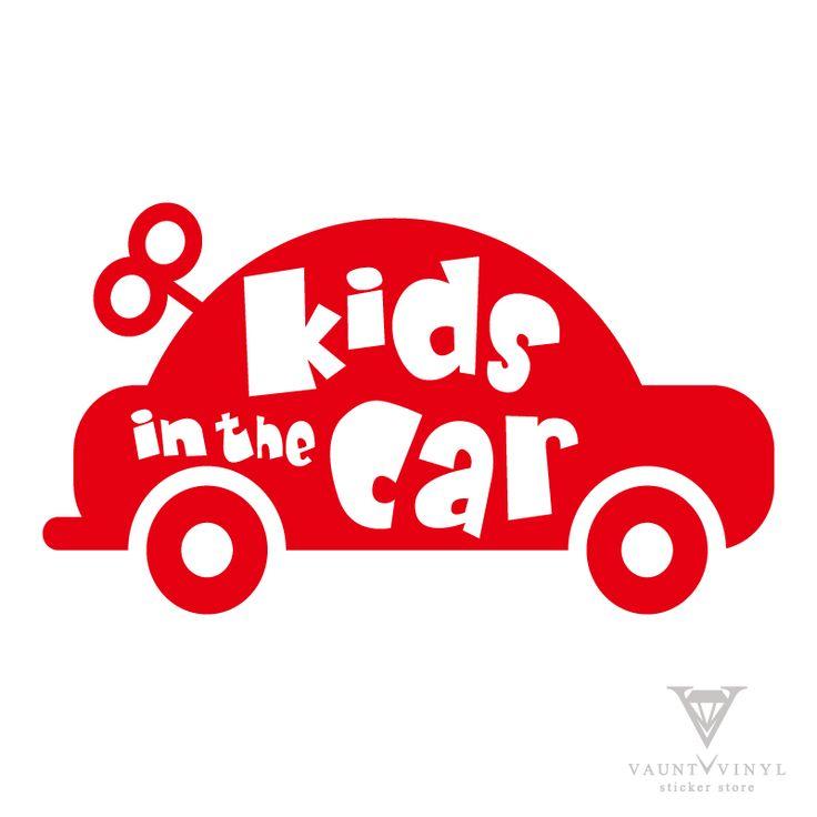 おもちゃの車Kidsincarカッティングステッカーベイビーインカー車ステッカーシールシートフィルムベビーキッズkids/かわいい子供/カスタムデカールNBOXワゴンRタントラパンに