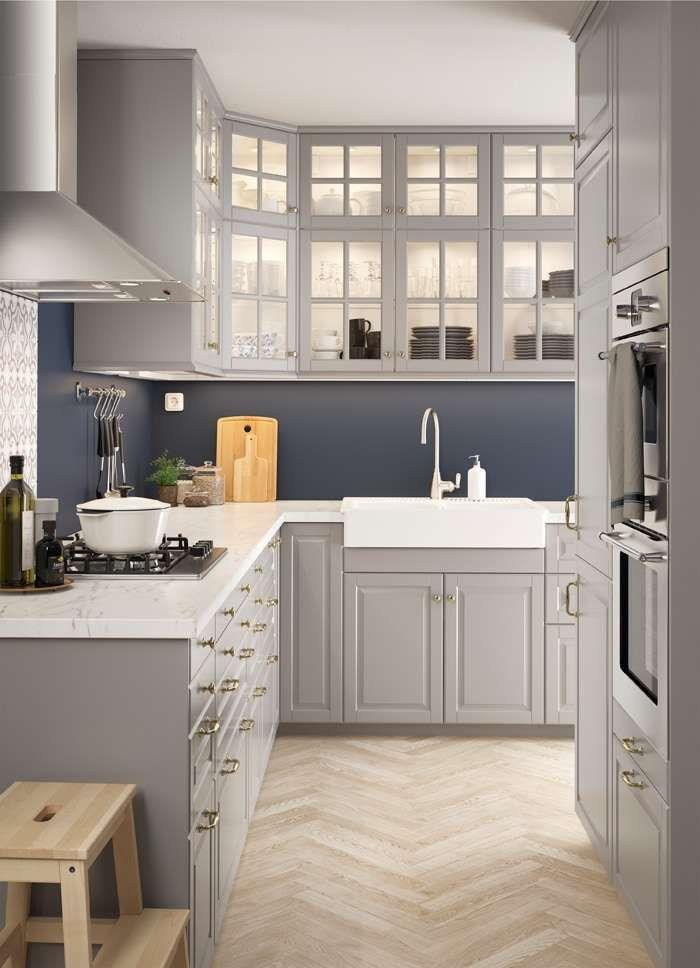 Cucine ikea 2019 nel 2019  idee  Grey ikea kitchen Grey