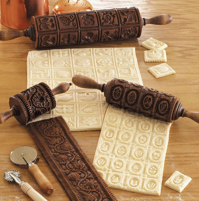 Springerle and Speculaas Cookie Molds