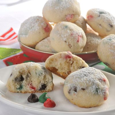 Holiday Snowball Cookies (Easy; 4 1/2 dozen cookies) FROM VAL: -these are my favorite christmas cookie - great recipe