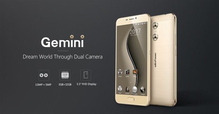 Ulefone Gemini Presell, Special Offer from Gearbest  @  $139.99  !  http://www.mobilescoupons.com/coupons-deals/ulefone-gemini-presell-special-offer-from-gearbest