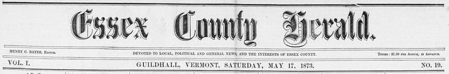 Essex County Herald (Guildhall, Vt)