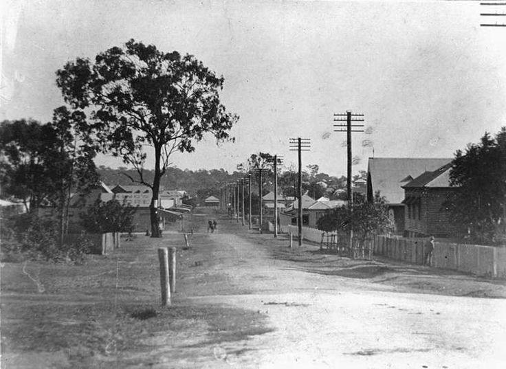 Cnr Bay Tce & Pine Street Wynnum, Brisbane, ca. 1910