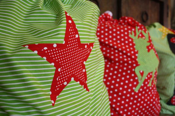 Large Santa Sacks for Christmas Made to Order by Kozzzee on Etsy