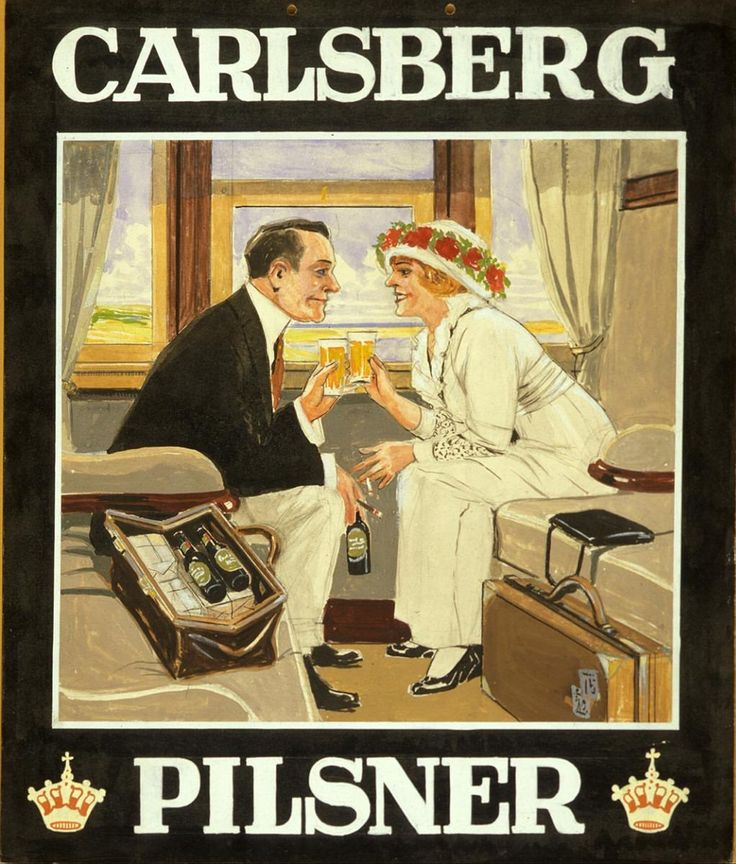 Vintage Carlsberg poster