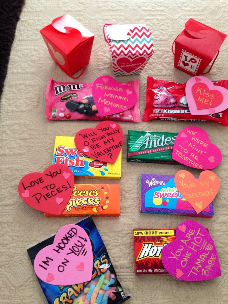 Valentines Day care package
