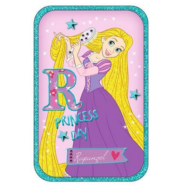 Rapunzel Κασετίνα Διπλή Γεμάτη