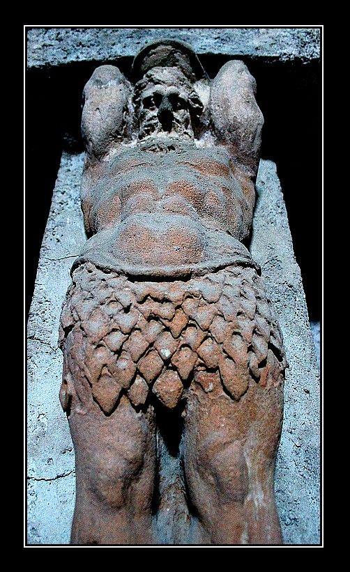 A Giant at the Bath, Pompei, Italy Copyright: Terez Anon
